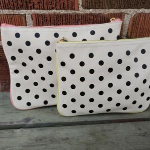 Handbags - INDIGO makeup/travel bag set (2 included)